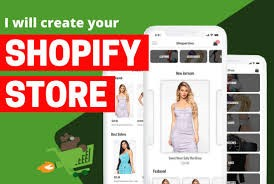 Shopify store, online store,