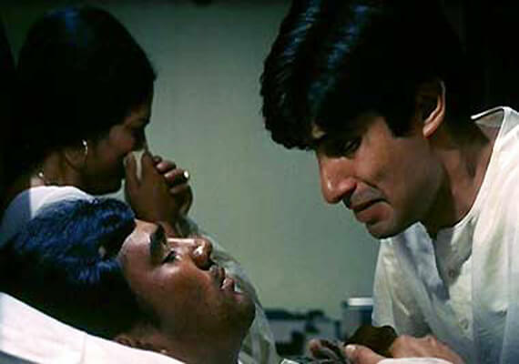Anand's Death Scene