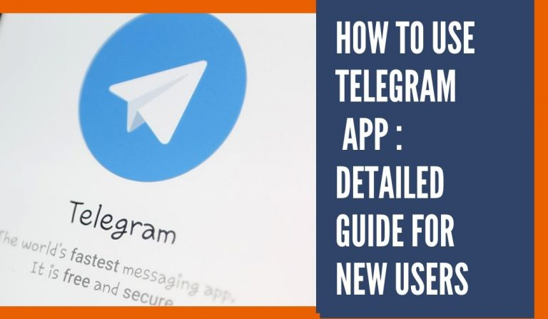 How to use Telegram App