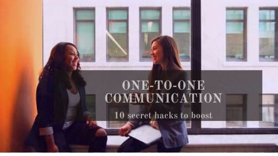 One-to-one communication