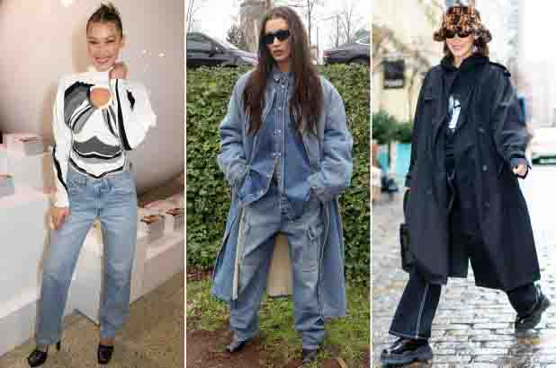 Over-sized Jeans & Baggy Jeans-Worst fashion and lifestyle clothing trends in the world