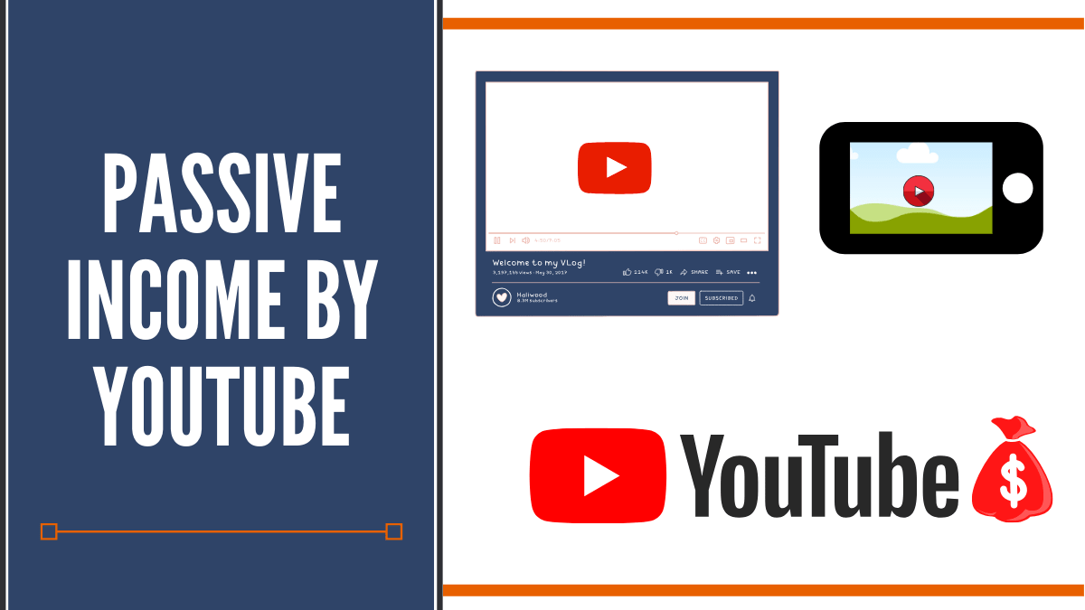 Passive income by youtube