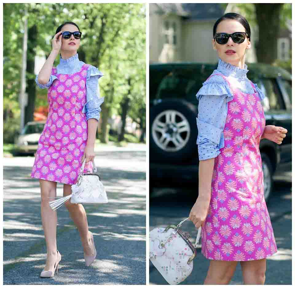 Playful Prints-best vintage fashion trend making a comeback