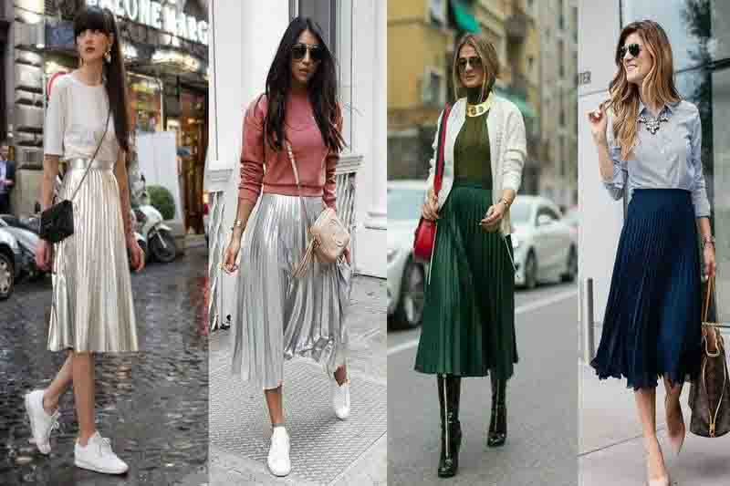 Pleated Skirts-best vintage fashion trend making a comeback