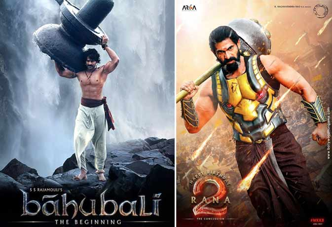 bahubali series telugu of modern Indian cinema