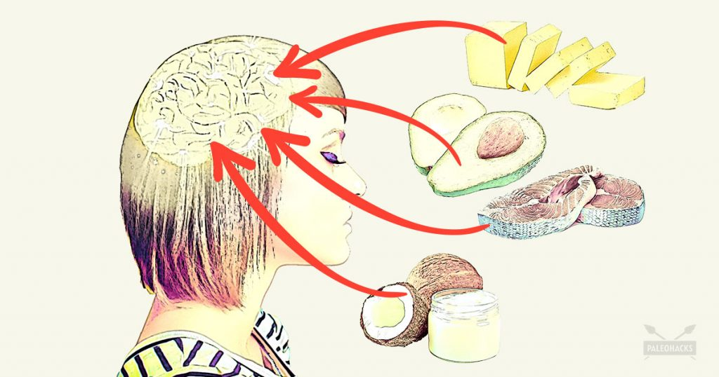 Brain signals for food