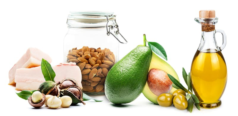 oils fat and nuts