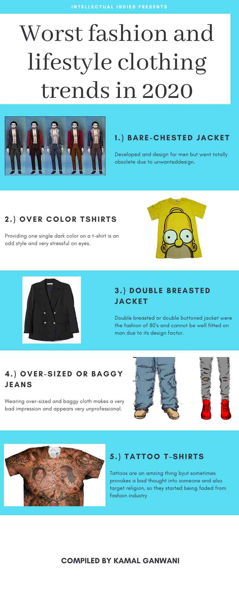 Worst fashion and lifestyle clothing trends in the world
