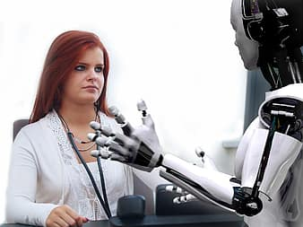 Robots consulting doctors