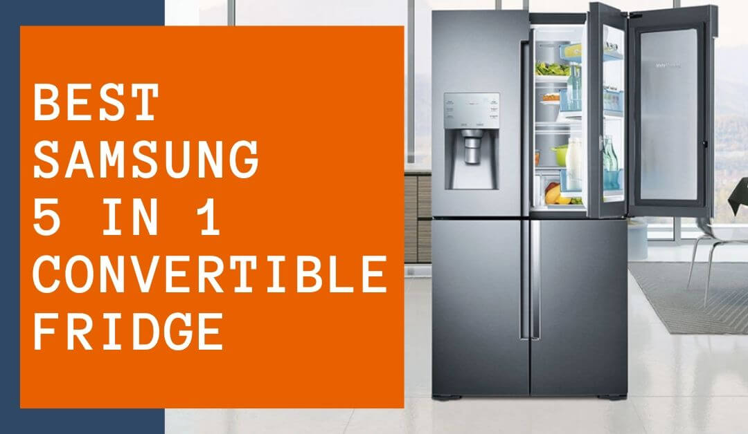 samsung convertible fridge