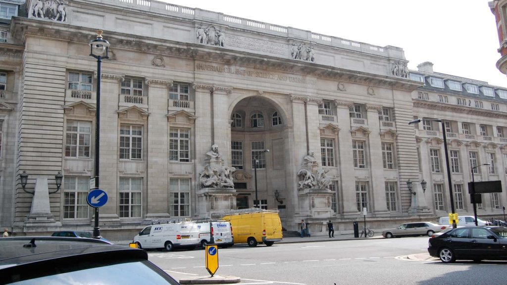 Imperial College London best university of Uk