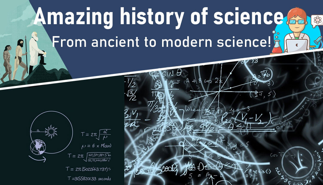 Amazing history of science title