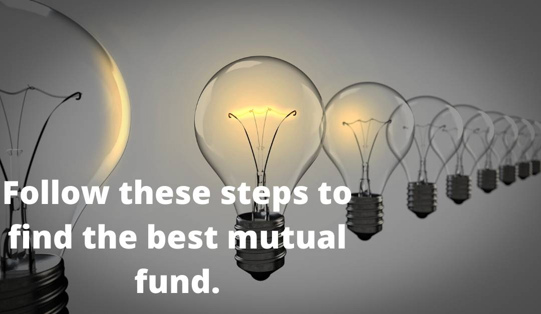 Discussed the idea to select the best mutual funds.
