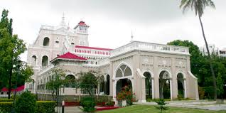 image of aga khan palace(place in Pune )