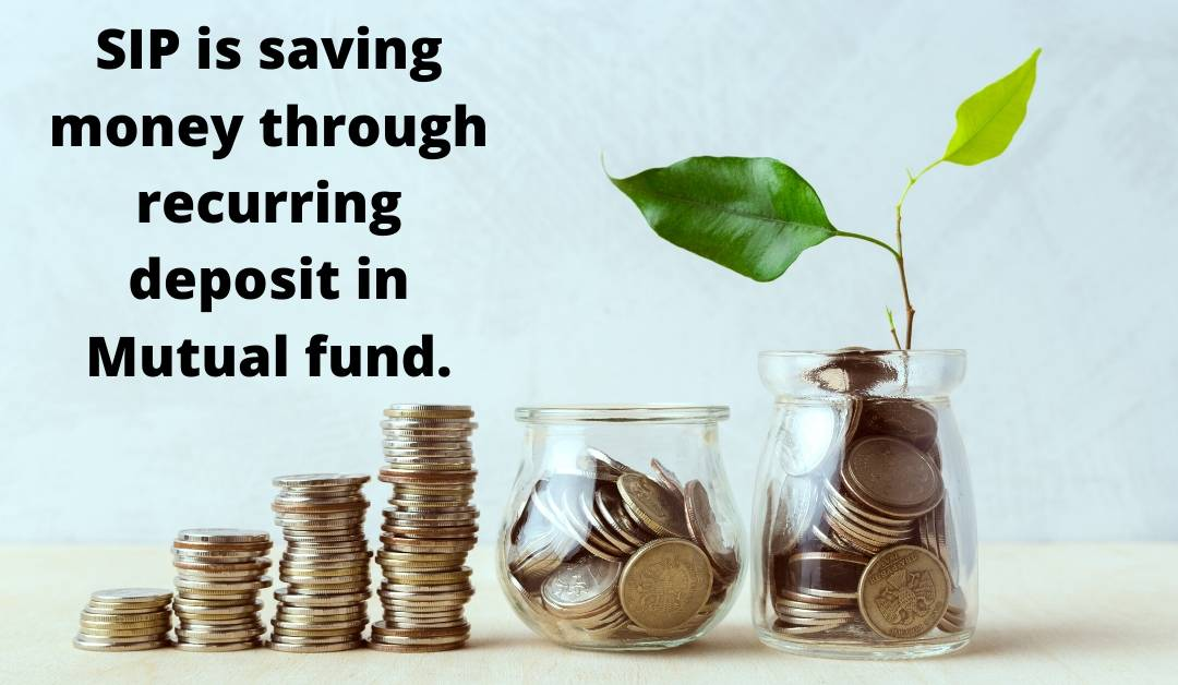 Explained about the sip investment in mutual fund and its definition.