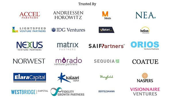 lots of investing firm logos in one image
