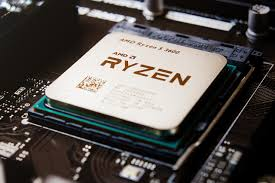 Image of a Ryzen Chip