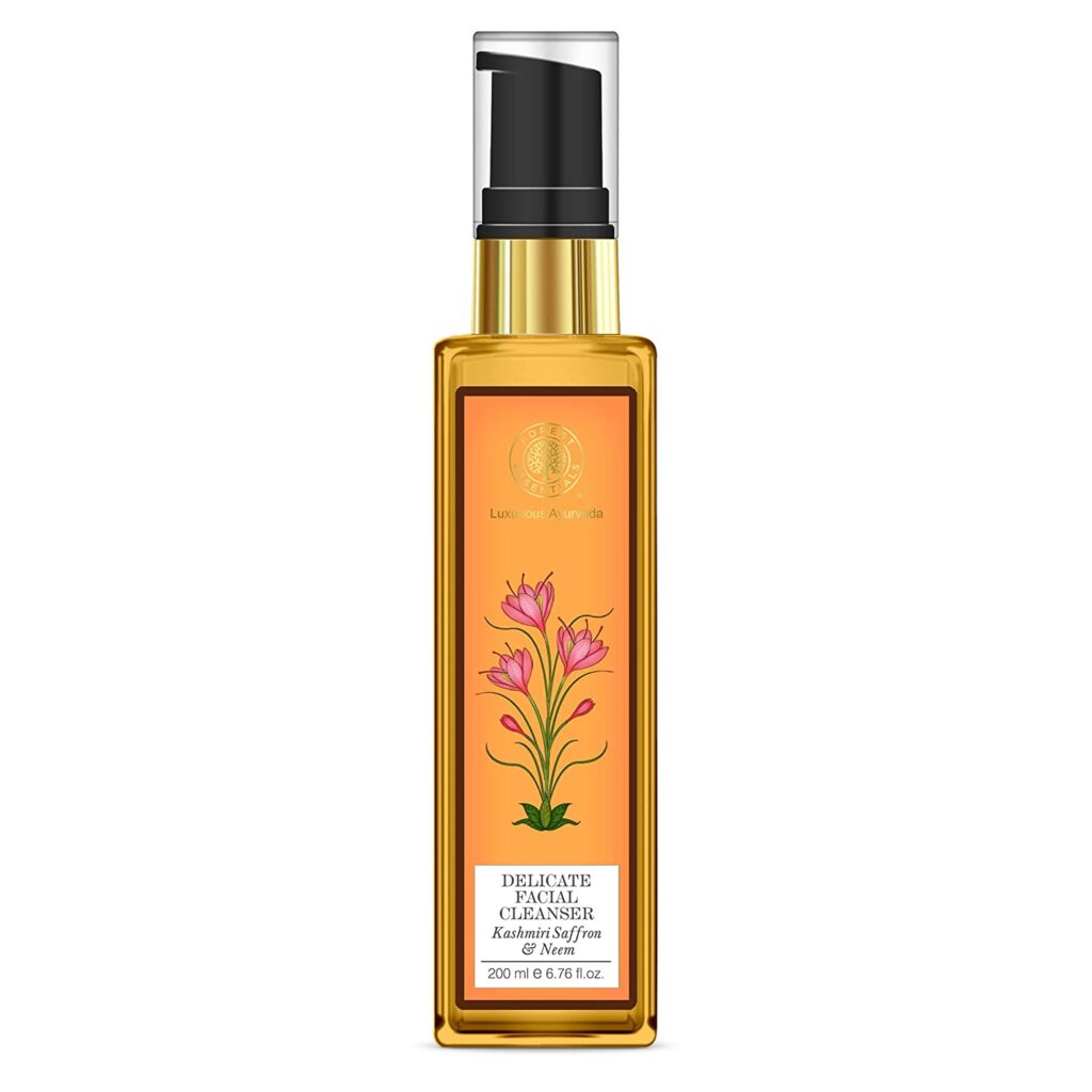 forest-essentials-kashmiri-saffron-and-neem-delicate-facial-cleanser