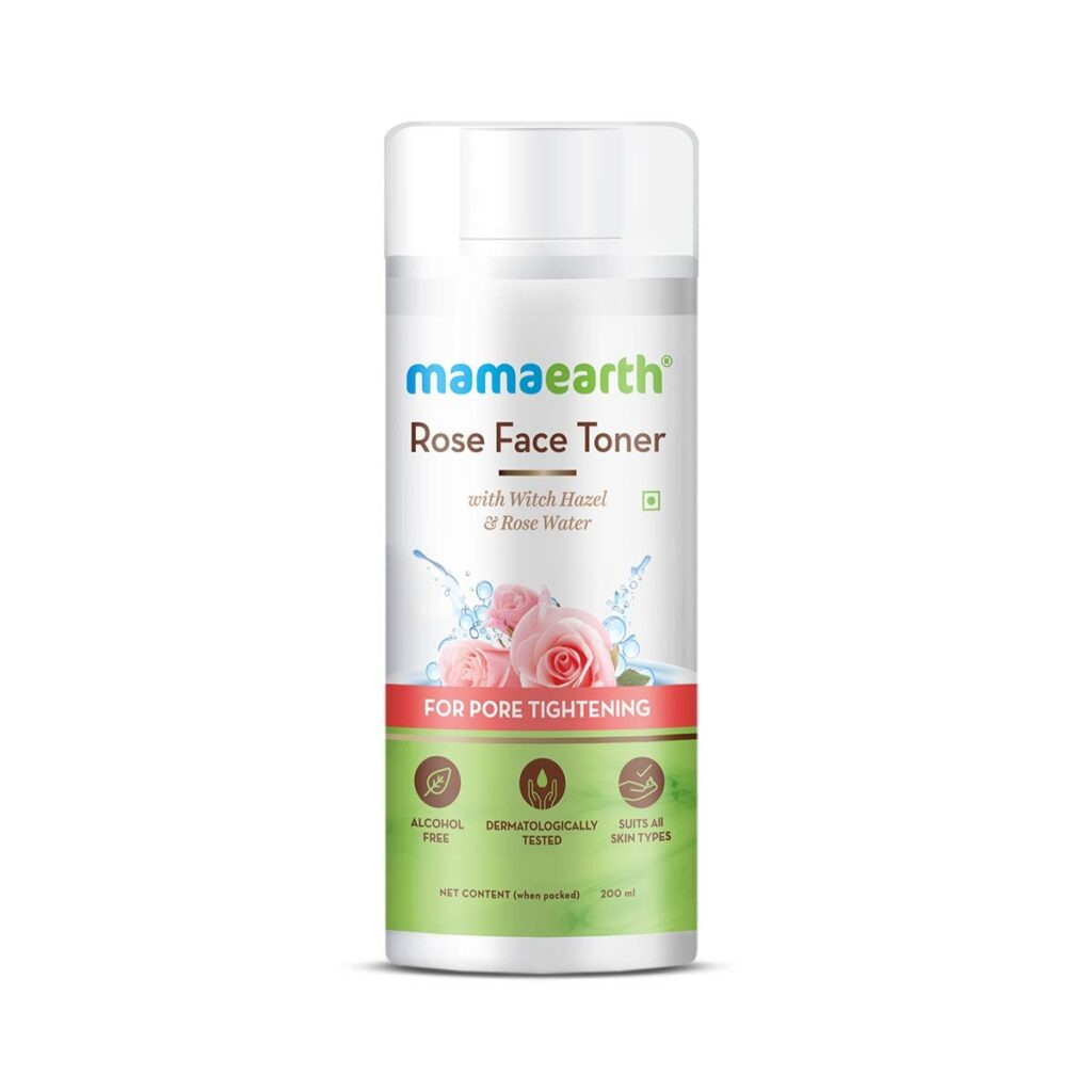 Mamaearth Rose Water with Witch Hazel
