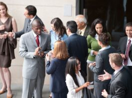 professional networking in business